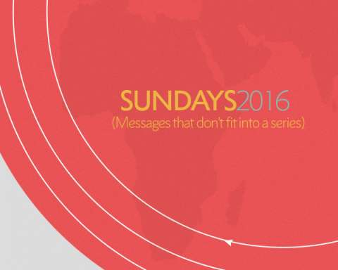 Sunday Sermons 2016